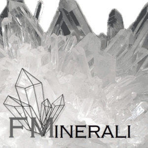 logo fminerali - cristallo quarzo