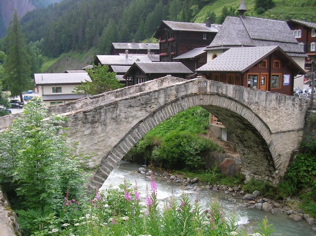 ponte romano - Binn Svizzera