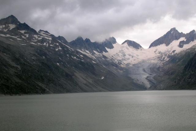 panorama ghiacciaio del Grimsel - Svizzera