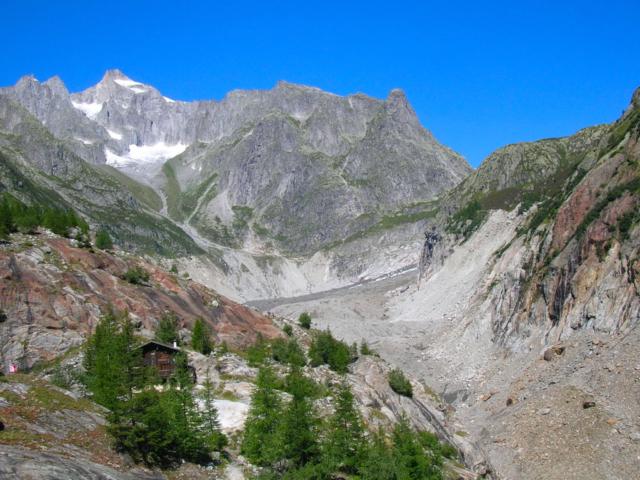 panorama valle di Fiesch - Svizzera