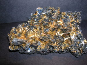 Ematite Rutilo, minerali del brasile